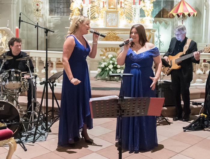 Benefizkonzert Sängerinnen