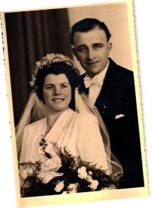 Martha Klär und Ehemann aus Riegelsberg