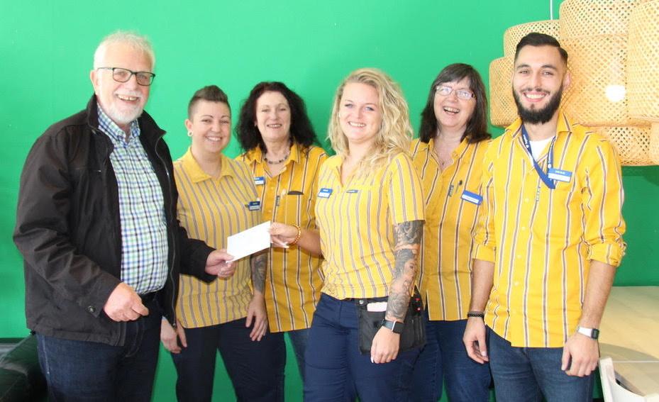 Spendenübergabe Diversity-Gruppe von IKEA Saarlouis 2019