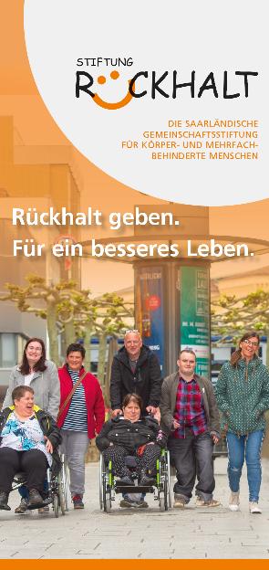 Broschüre Stiftung Rückhalt