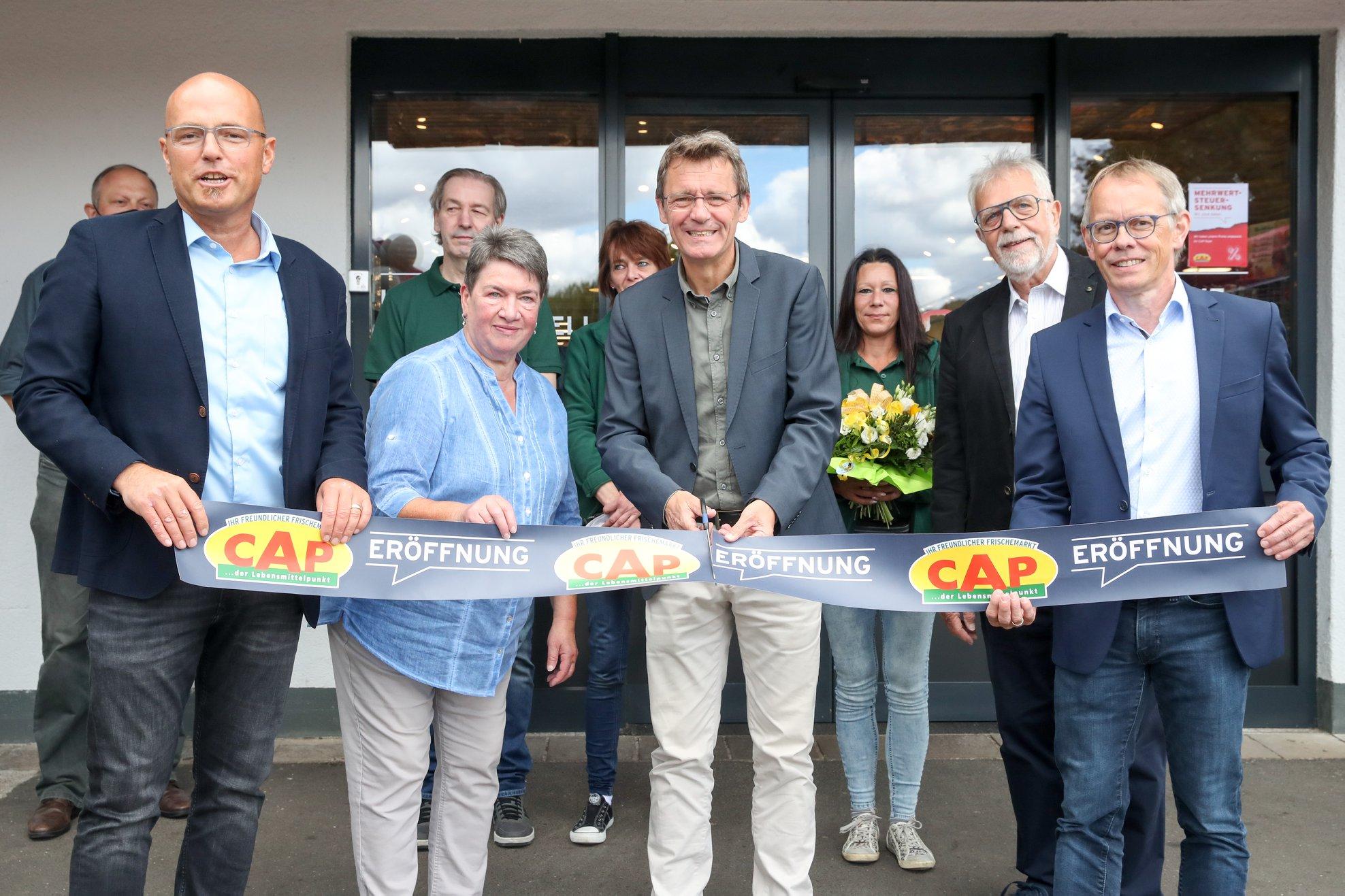 Eröffnung CAP Markt Niederkirchen